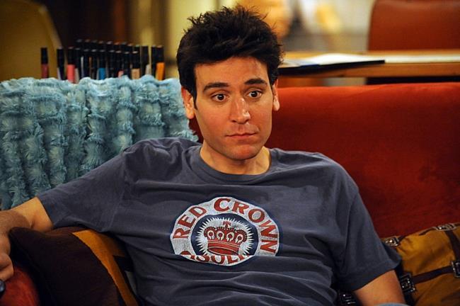 Ted in una delle sue dichiarazioni d'amore