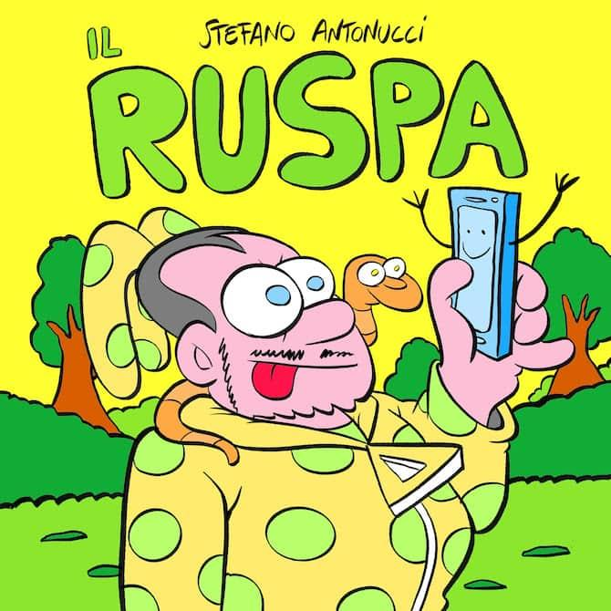 La copertina de Il Ruspa