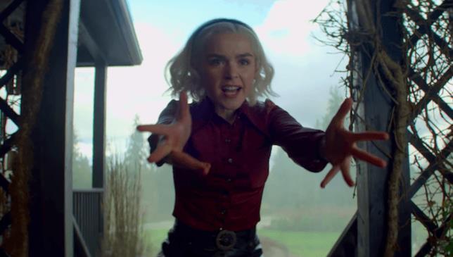 Un'immagine dalla seconda parte de Le Terrificanti Avventure di Sabrina