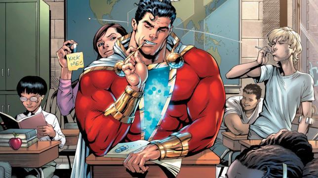 Shazam nei fumetti DC