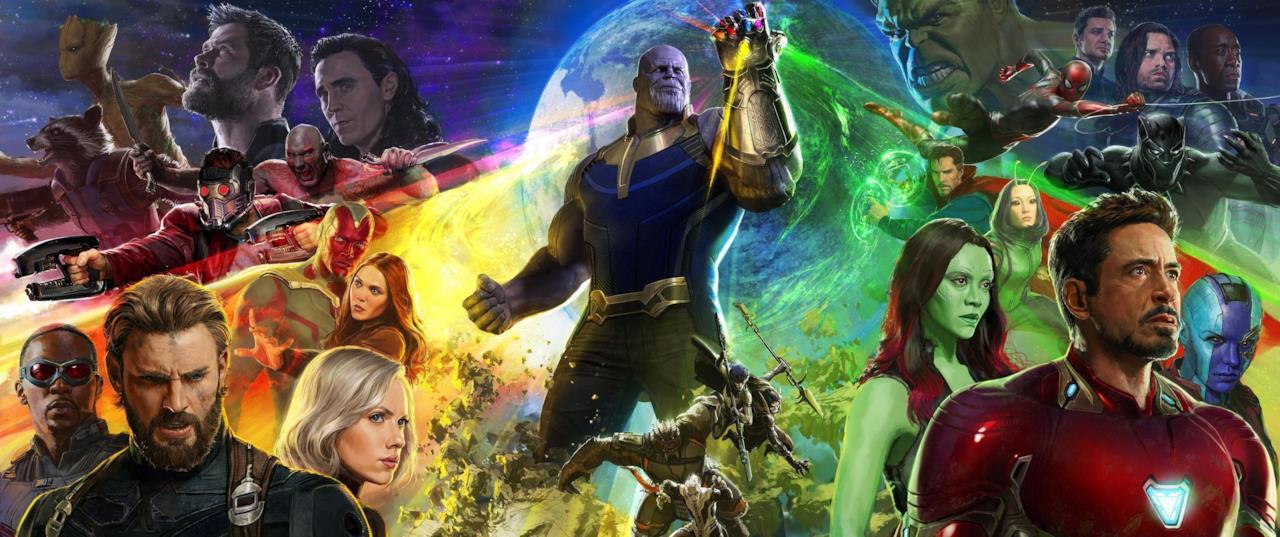 Il poster completo di Avengers: Inifnity War presentato al SDCC 2017