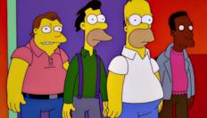 Homer il barista