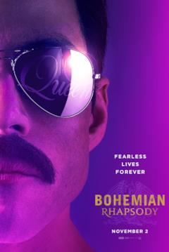 Fearless Lives Forever: Freddie sulla locandina di Bohemian Rhapsody