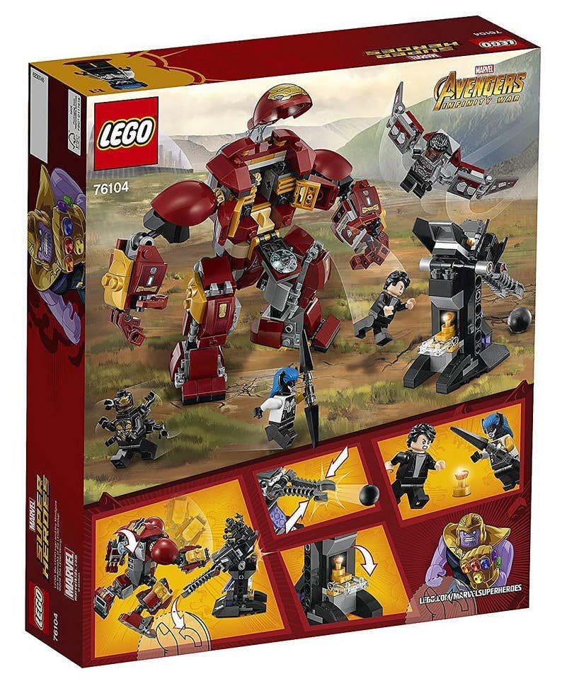 Avengers: Infinity War, set LEGO con la Hulkbuster