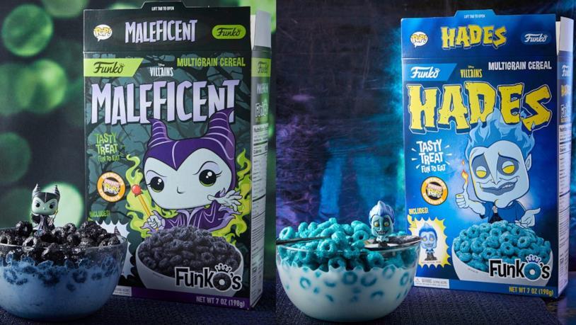 I nuovi cereali dedicati ai cattivi Disney