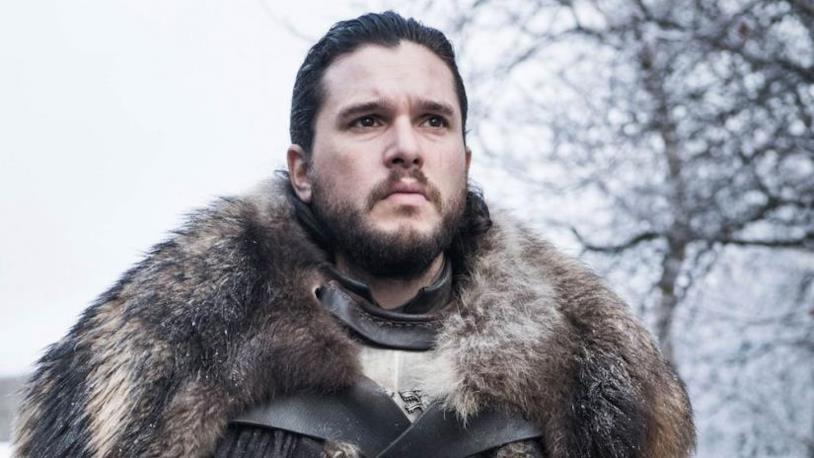 Kit Harington nei panni di Jon Snow in Game of Thrones