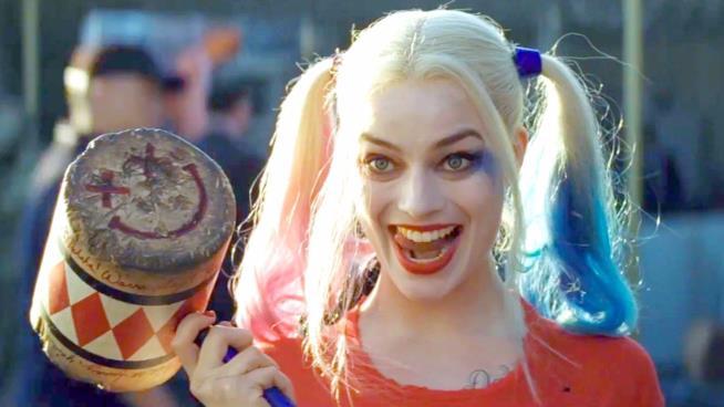 Margot Robbie nei panni di Harley Quinn