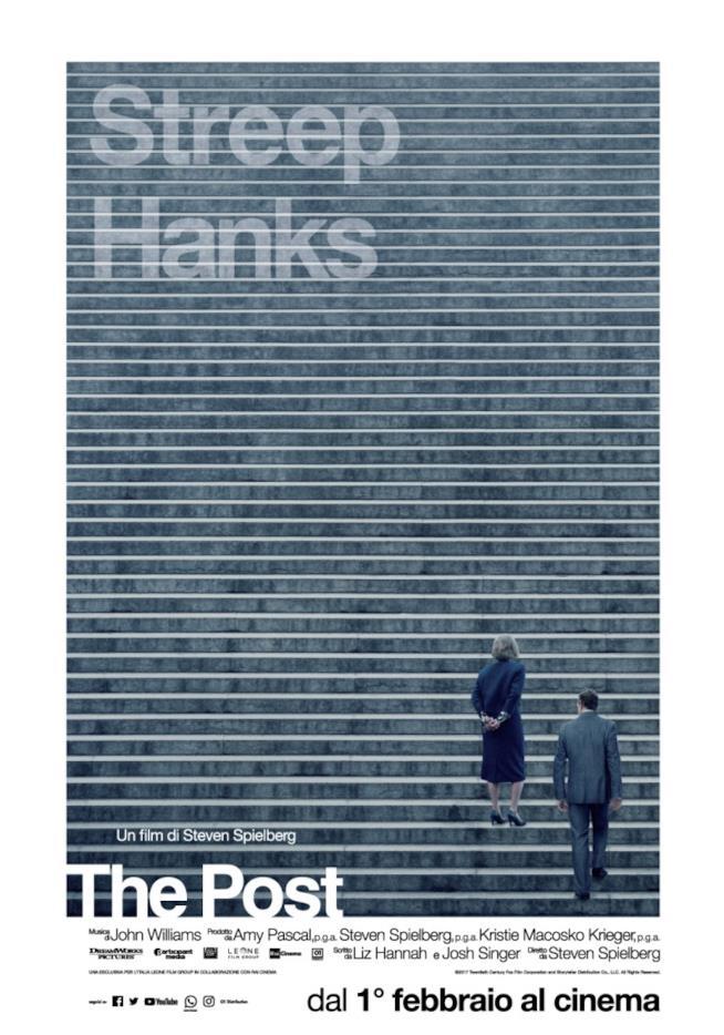 Poster italiano del film The Post
