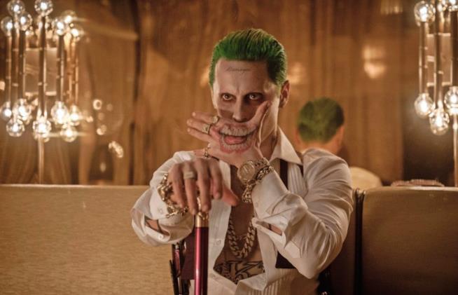 Jared Leto in una scena di Suicide Squad