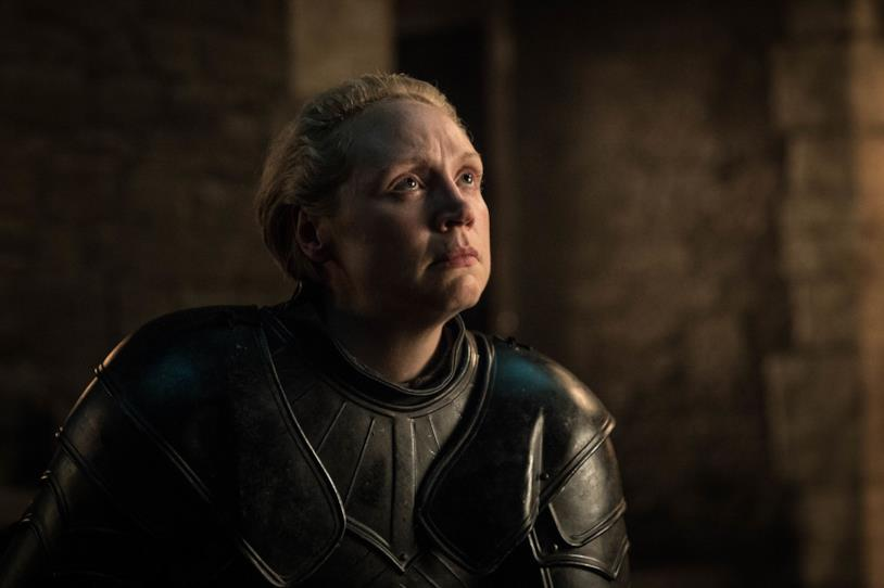 Gwendoline Christie in Game of Thrones 8x02