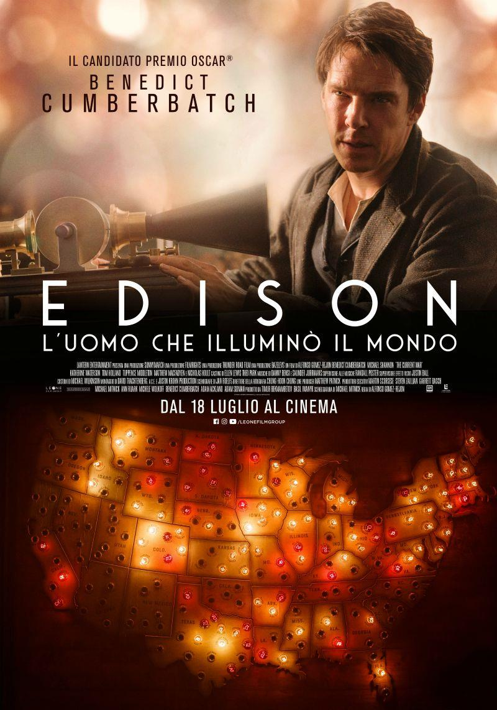 Poster italiano di Edison - L'uomo che illuminò il mondo