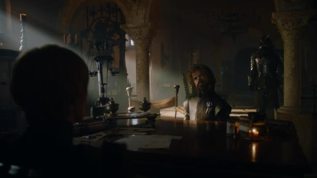 Tyrion cerca di parlare con Cersei