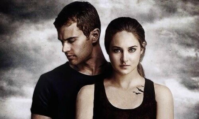 Tris e Quattro nel poster ufficiale di Divergent