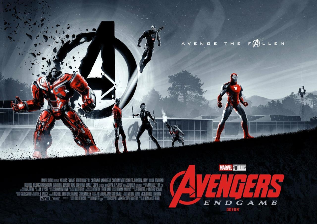 Doppio poster speciale per Avengers: Endgame (parte uno)