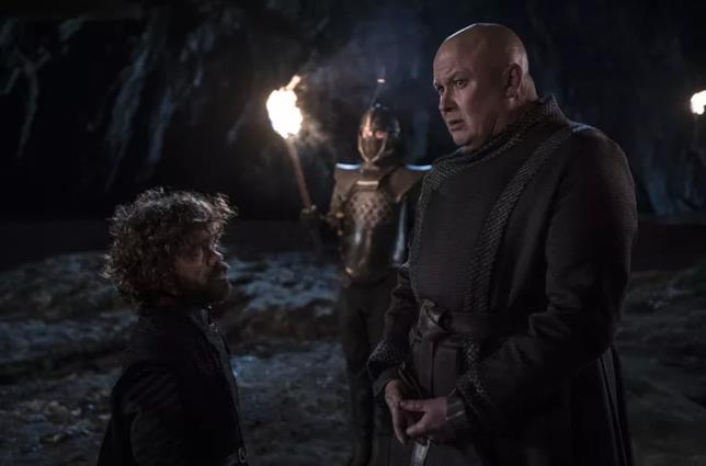 Peter Dinklage e Conleth Hill in Game of Thrones 8x05