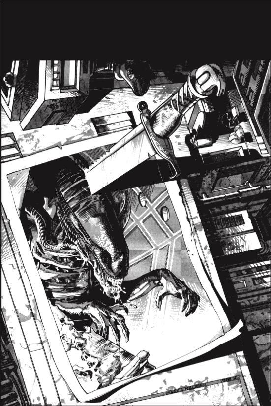 cover della miniserie Aliens