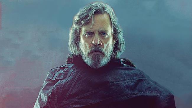 Mark Hamill aka Luke Skywalker in Star Wars: The Last Jedi