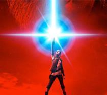 Rey nel poster di Star Wars: Gli Ultimi Jedi