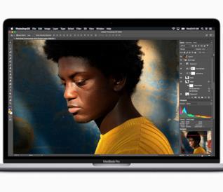 Immagine stampa del nuovo MacBook Pro da 15 pollici
