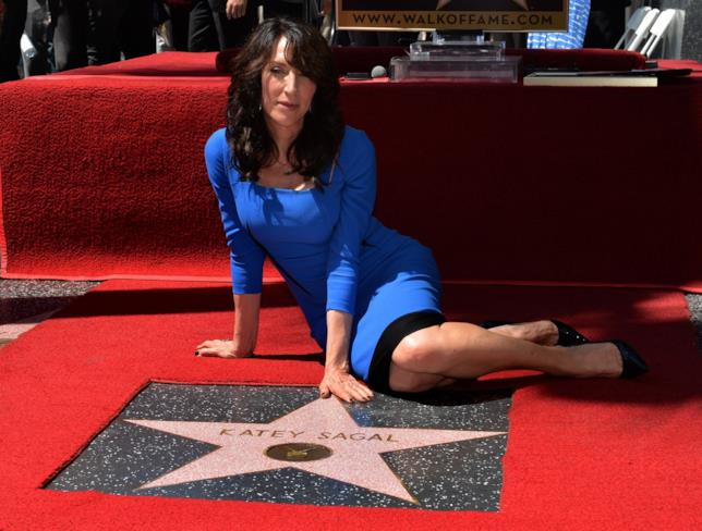 L'attrice Katey Sagal