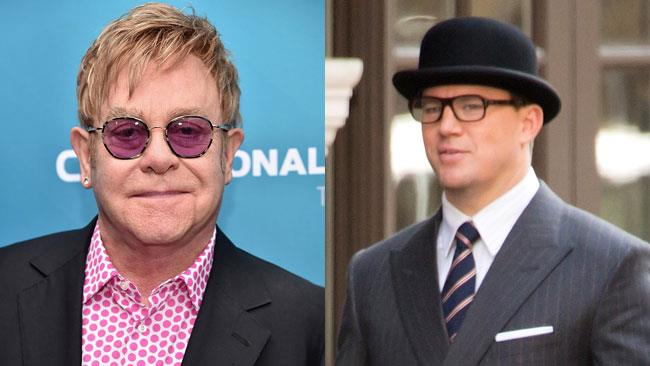 Elton John e Channing Tatum