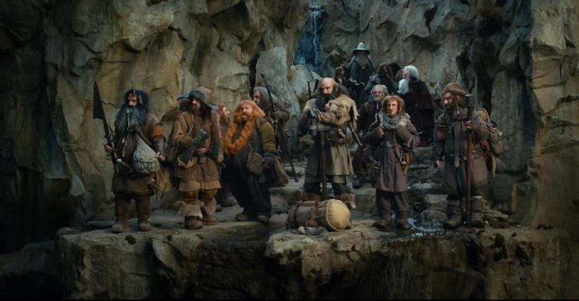 I nani dei film Lo hobbit