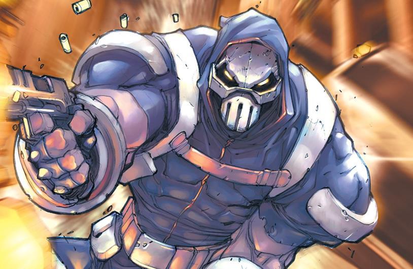 Dettaglio della cover di Taskmaster #4