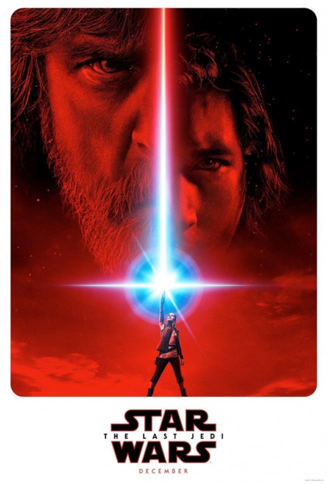 Il poster ufficiale del nuovo film della saga di Star Wars