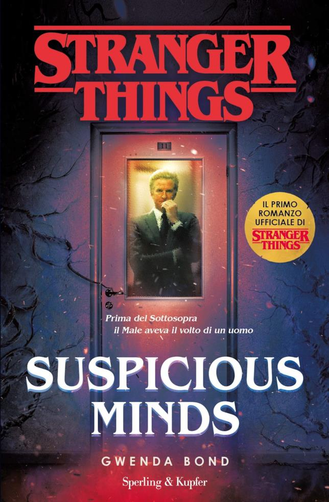 La copertina di Suspicious Minds