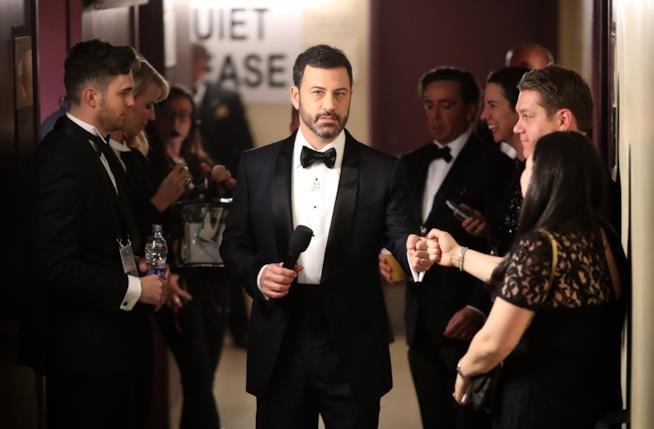 Jimmy Kimmel durante gli Oscar 2017