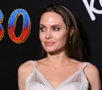 Foto di Angelina Jolie scattata alla premiere di Dumbo