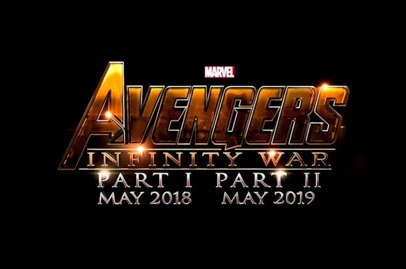 I loghi originali di Avengers: Infinity War - Part I & Part II