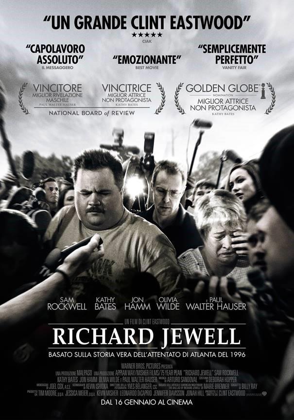 La locandina italiana di Richard Jewell