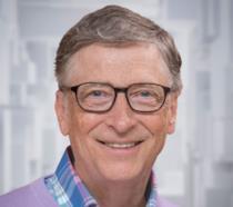 Primo piano di Bill Gates