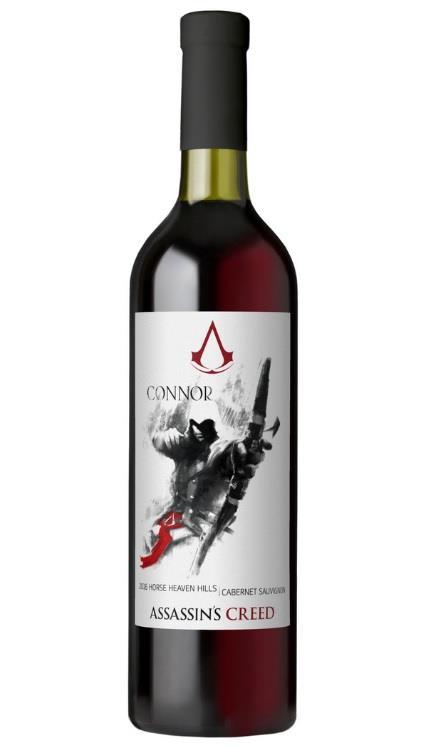 Connor di Assassin's Creed ha il suo vino ufficiale