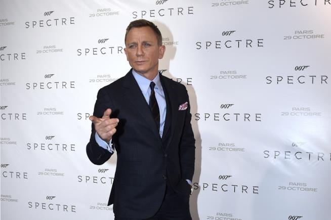 Daniel Craig alla premiere di 007 Spectre