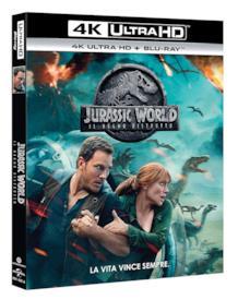 Il 4K UHD di Jurassic World: Il regno distrutto