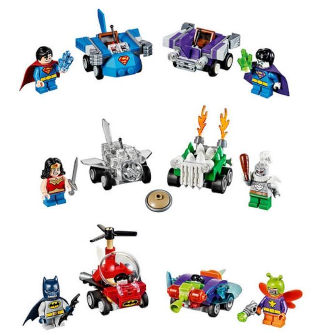 La seconda serie di Lego Mighty Micros dedicata al mondo DC Comics