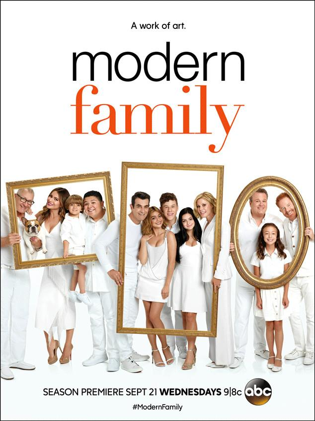 Il poster della stagione 8 di Modern Family