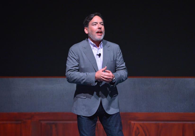 Shawn Layden, volto di PlayStation in America, all'E3 2018