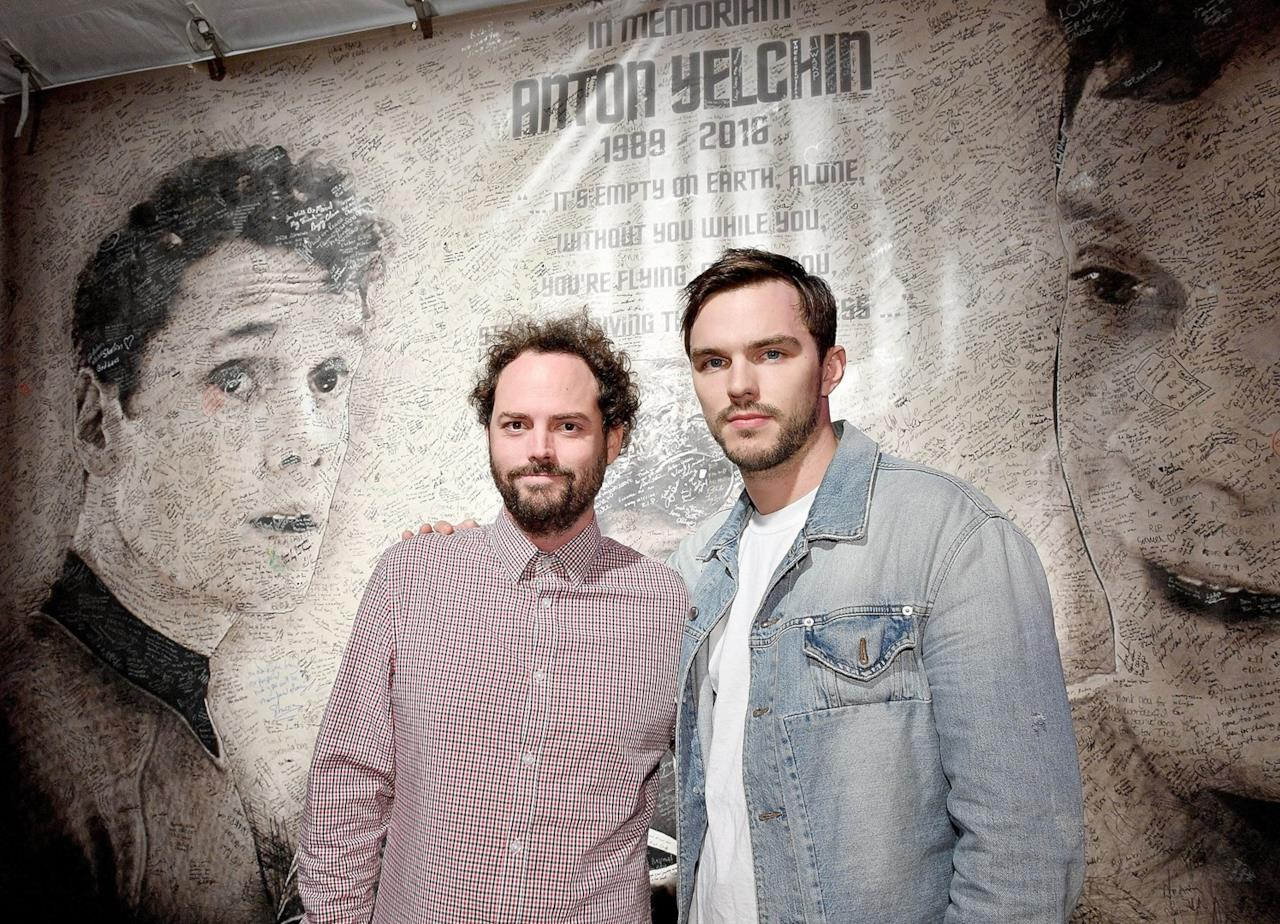 Il regista Drake Doremus e l'attore Nicholas Hoult