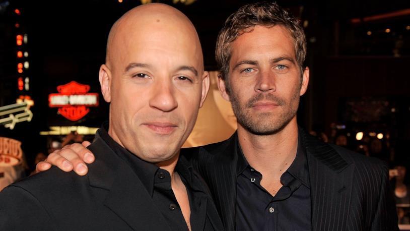 Paul Walker con Vin Diesel