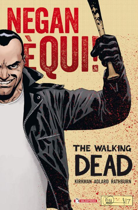 La cover di Negan è qui