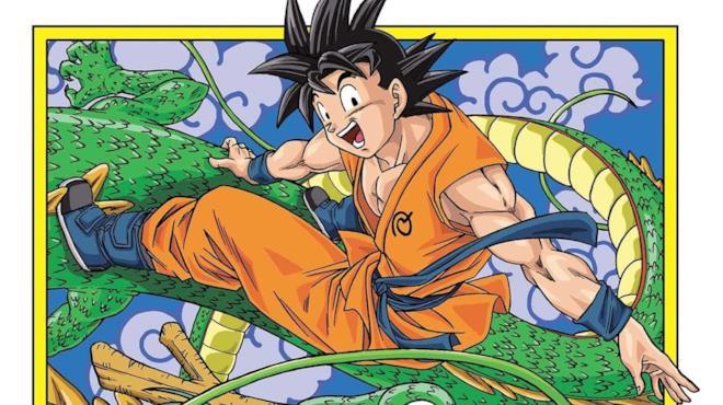 Disegno di Toyotaro da Dragon Ball Super