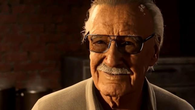 Stan Lee in Spider-Man su PS4