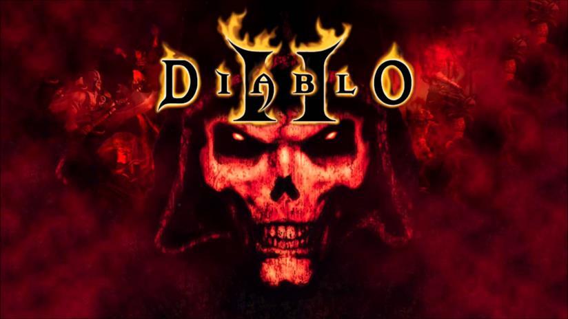 La copertina ufficiale di Diablo II