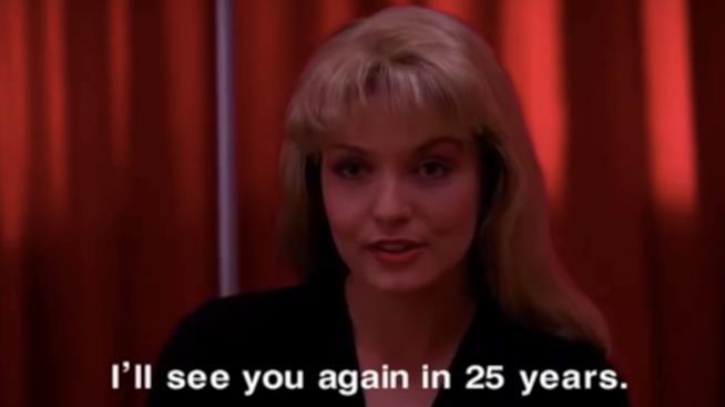 Laura Palmer annuncia l'appuntamento a 25 anni dopo