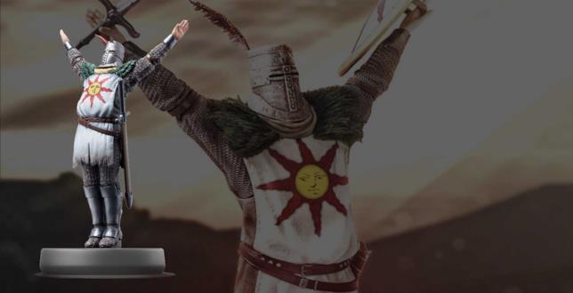 Solaire di Dark Souls diventa un Amiibo