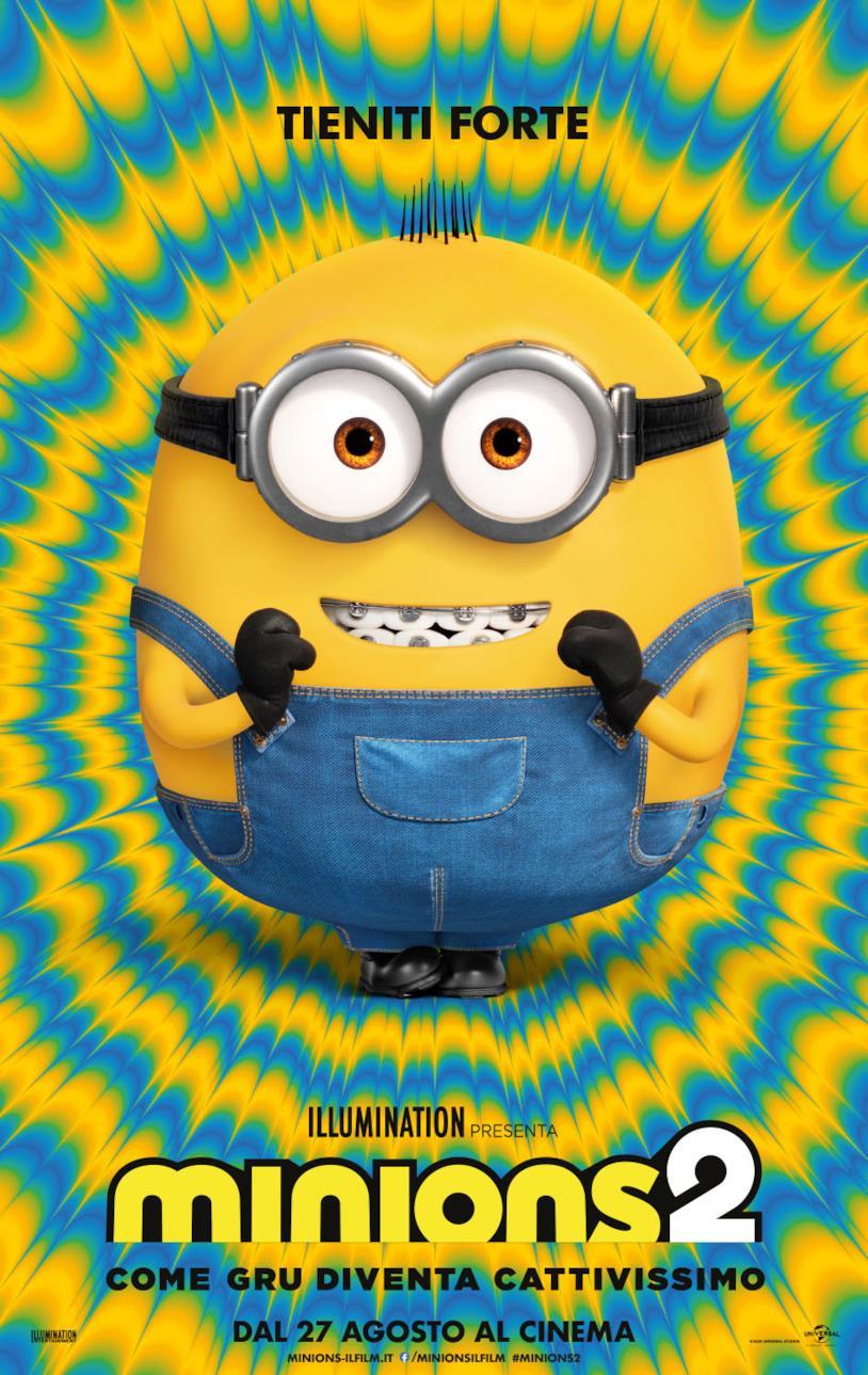 I Minions nel teaser poster italiano