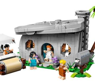 Il set LEGO dei Flintstones: la casa e l'automobile